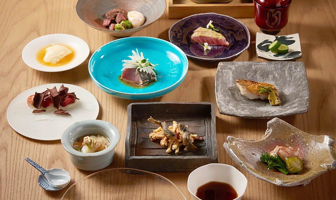 台北美福 晴山日本餐廳   劍南路站-頂級日式料理 雙人桌席套餐