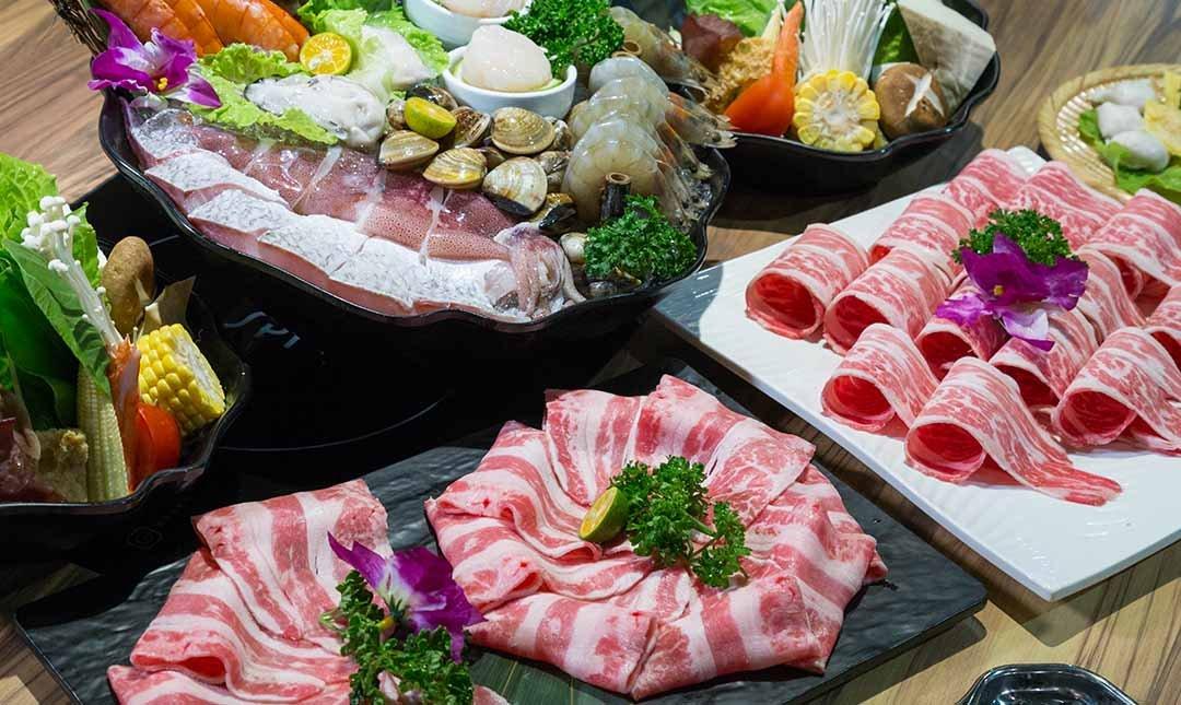鍋台銘 x 黑毛和牛頂級鍋物-雙人最豐盛鍋物   贈 6 oz肉品