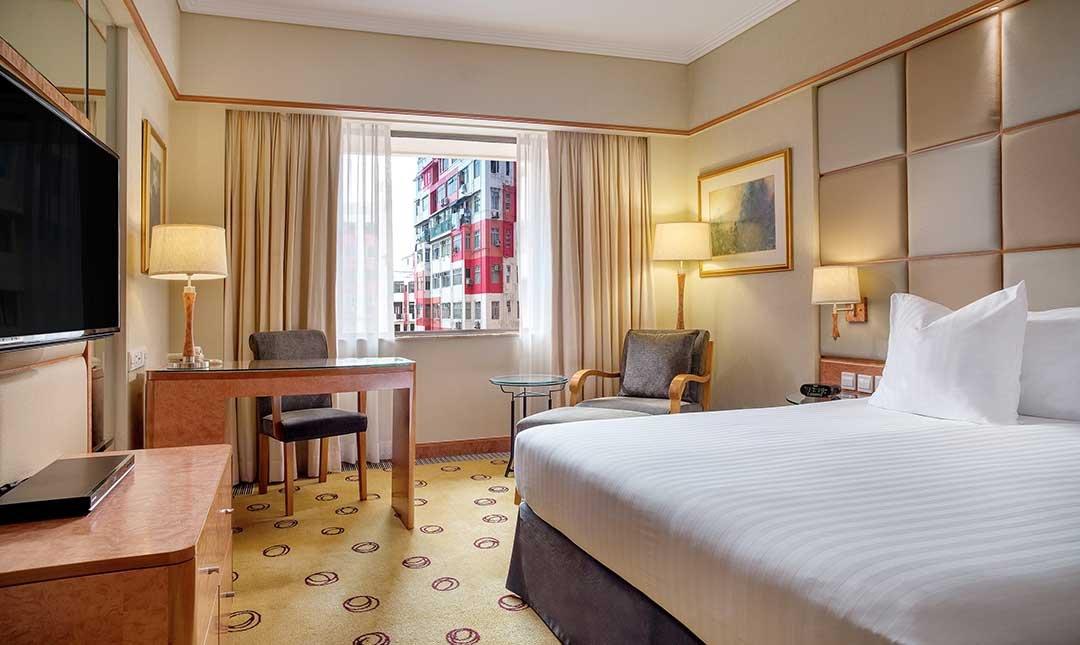 香港柏寧酒店-豪華房 5h
