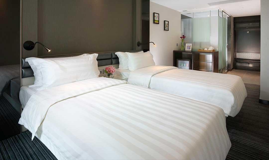 香港珀薈酒店-豪華客房