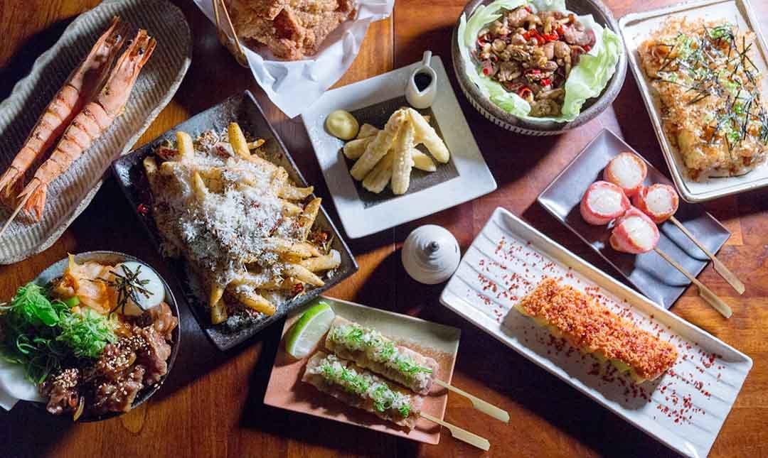 技固帕串燒酒家-深夜好味食堂 | 日式雙人套餐