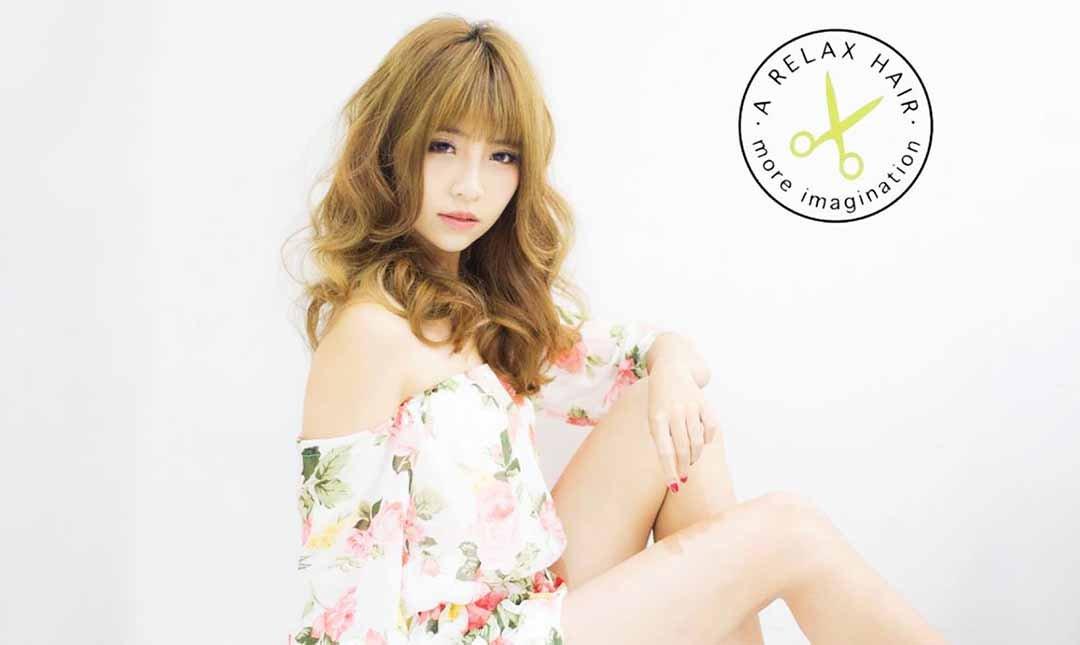 A Relax Hair Salon-剪 + 染 + 護|日系風格
