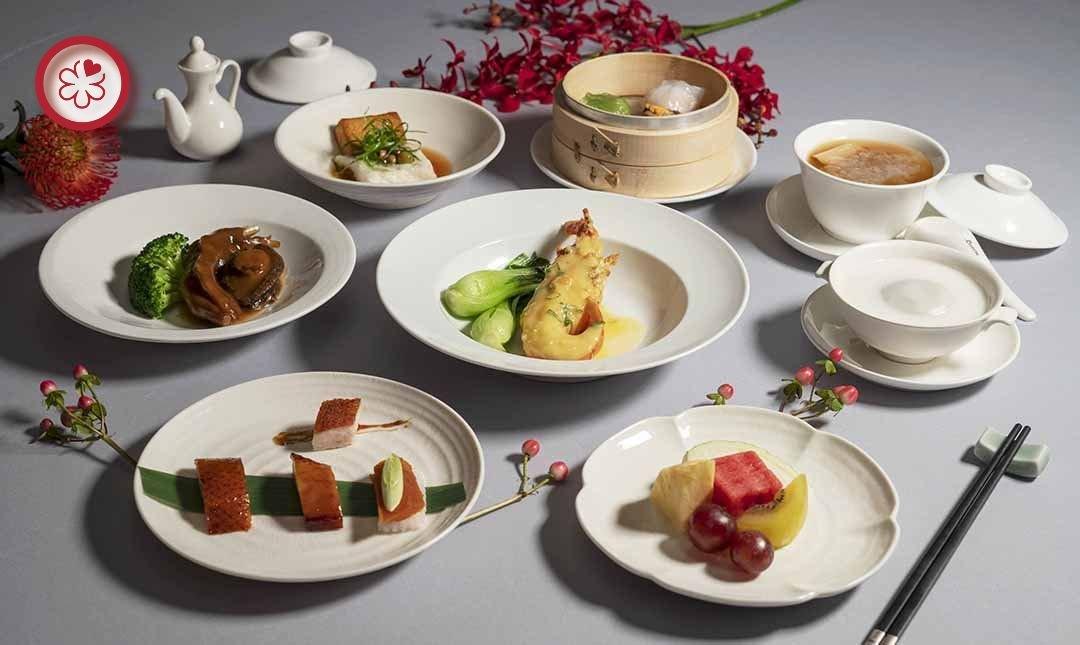 米其林餐盤 | 喜來登飯店辰園-典雅驚豔 | 雙人晚間料理