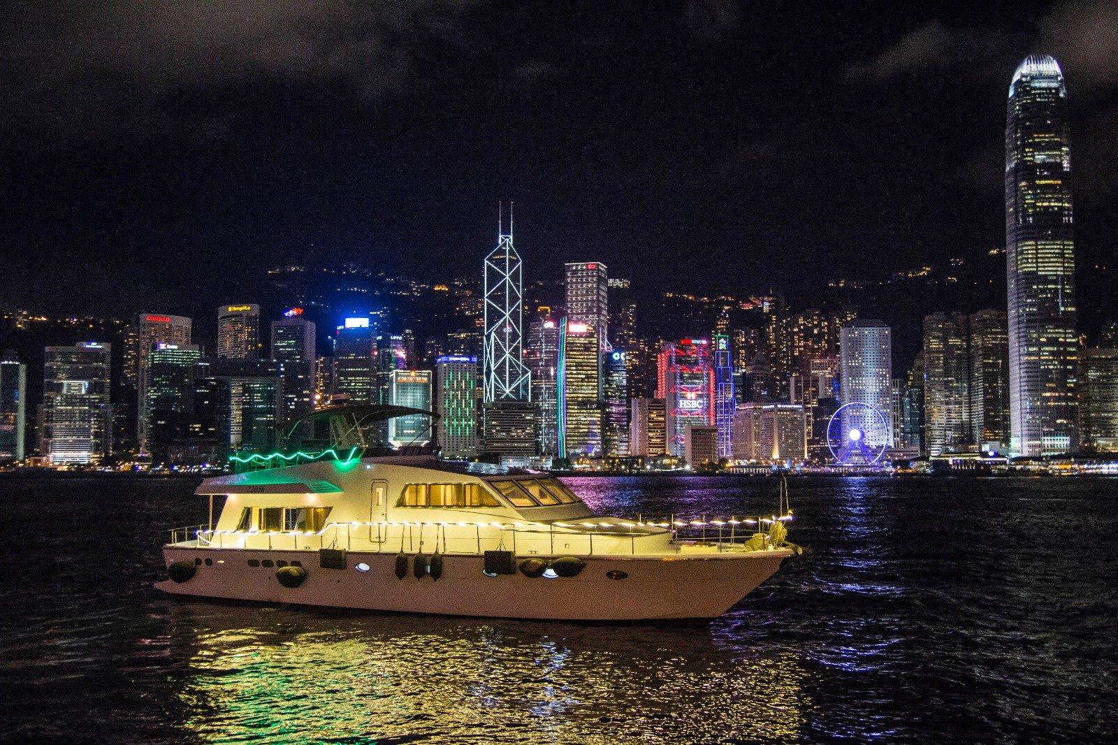 Oceangogo-夜遊維多利亞港 + 幻彩詠香江