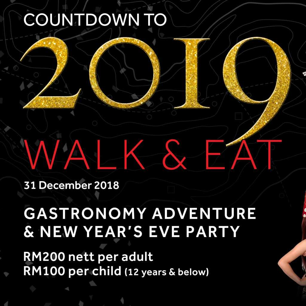 Putrajaya Marriott Hotel-SOLD OUT | New Year Dinner + Party - Adult | Countdown to 2019: Walk & Eat