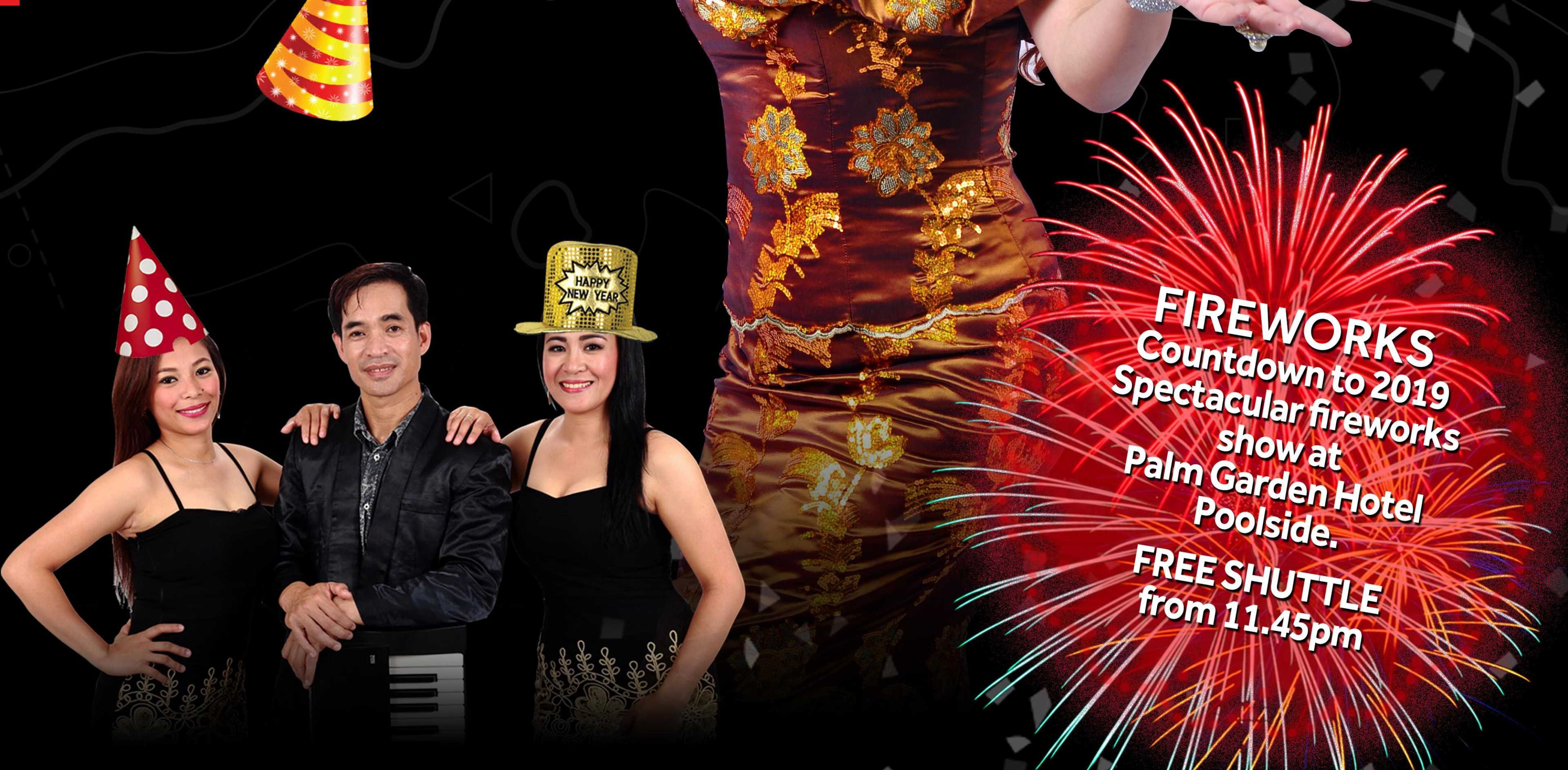 Putrajaya Marriott Hotel-SOLD OUT | New Year Dinner + Party - Child (12 Year Old & Below) | Countdown to 2019: Walk & EaT