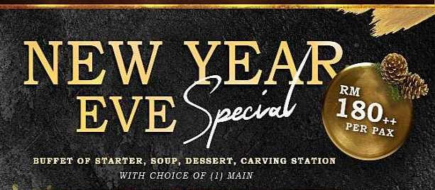 Signature at The Roof-SOLD OUT | 1 Person | NYE Dinner | 1 Main Course & Buffet