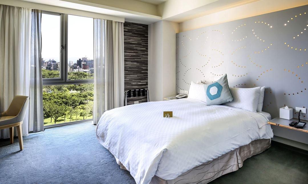 丹迪旅店 大安森林公園店-景觀豪華客房