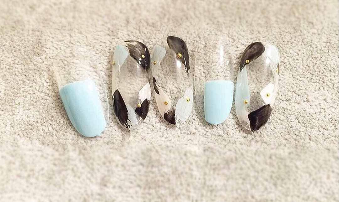 Ula Studio nails-手基礎設計款 (貓眼膠/平/圓法式)