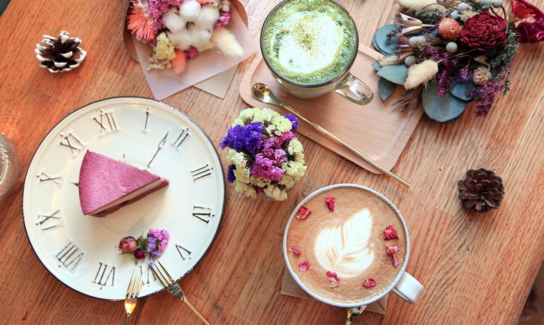 小夢境 Little Dream Cafe-輕鬆下午:重乳酪蛋糕+飲品
